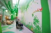 Children's hospitals make the process a little better for little patients